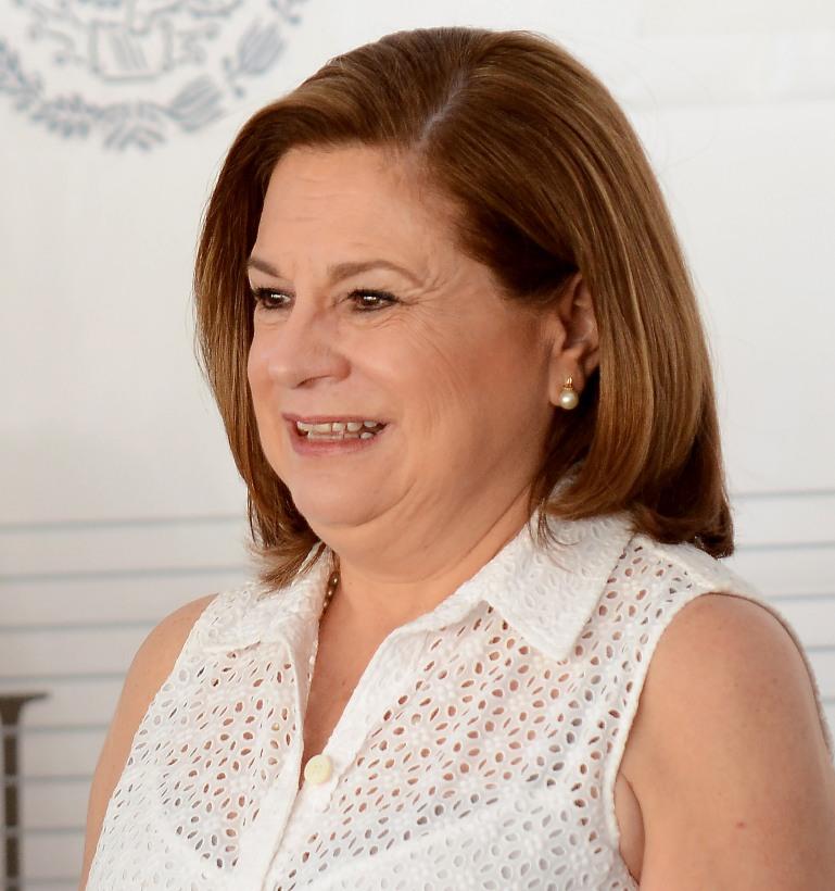 Arelu Gomez.- Procuradora general de la Republica
