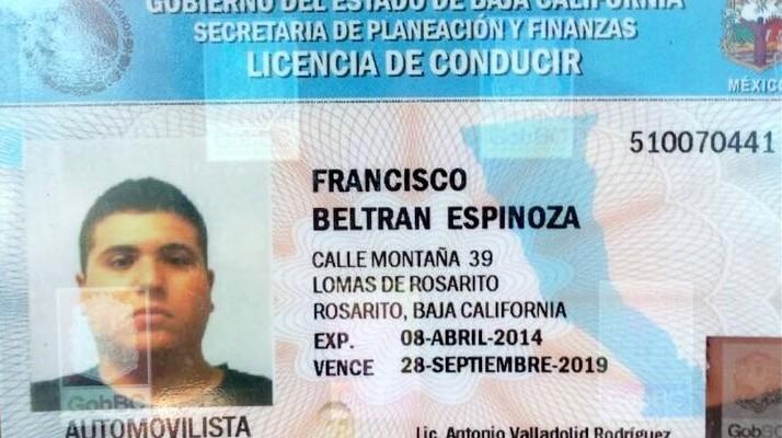 Resultado de imagen para imagen de una licencia de manejar de baja california