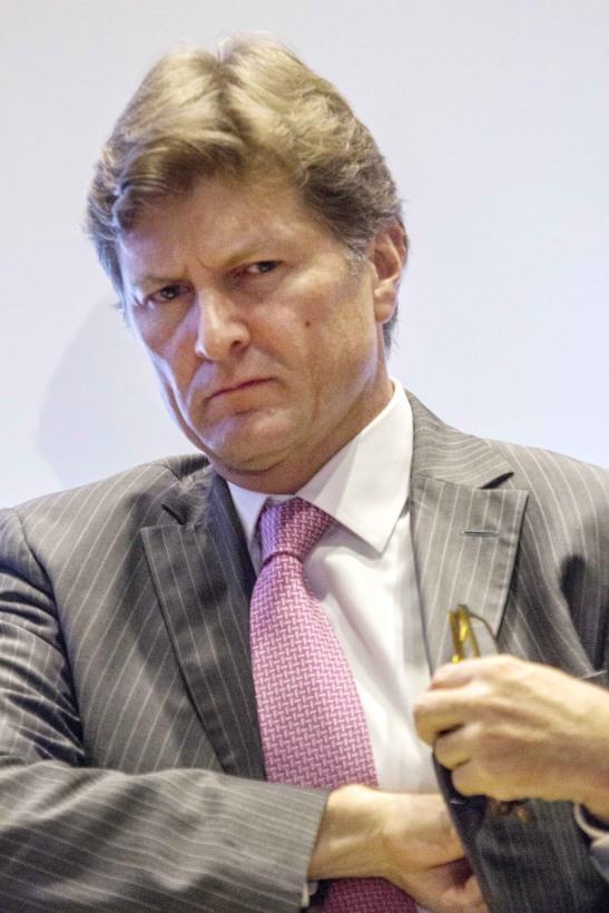 Enrique de la Madrid, Secretario de Turismo durante la inauguración de Turismo que tuvo lugar en un hotel de la zona de Polanco. FOTO: ENRIQUE ORDÓÑEZ /CUARTOSCURO.COM