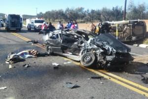 Foto: Cortesía. El accidente ocurrió en el kilómetro 81, a la altura de San Antonio de las Minas
