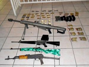 Imagen encontrada en el celular de uno de los detenidos durante una serie de operativos realizados la primera y segunda semana de febrero en Mulege