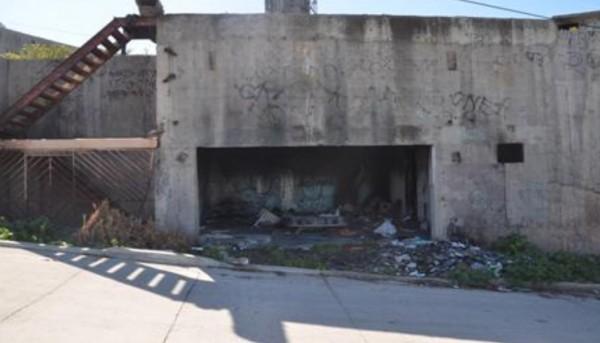 Inmueble abandonado ubicado en la calle Privada Santa María del Mar y Mar Caspio, de la colonia Alemán en la Zona Centro