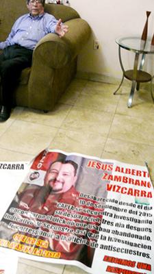 Jesus Zambrano, las mantas de la protesta