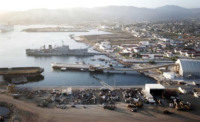 puerto de Amaya Curiel en Ensenada