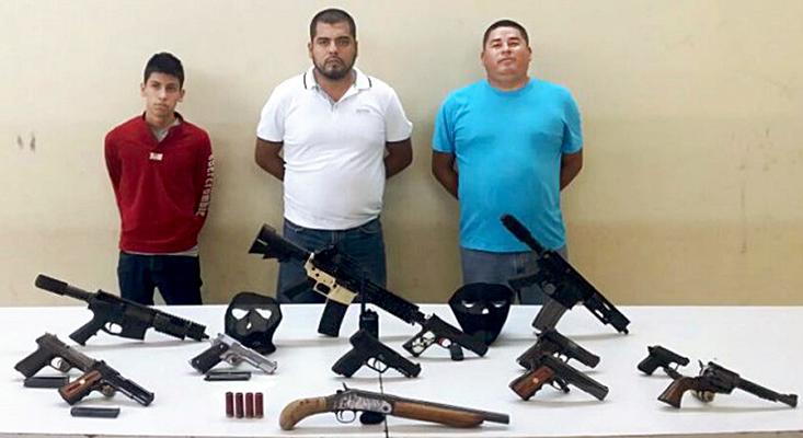 Jose Israel Villa Quiñones, de 31 años, Benjamin Orozco Montero de 29 años y Jorge Guzman Gonzalez de 18 años