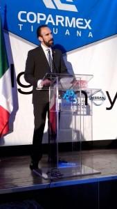 Gustavo Fernández, presidente de Coparmex