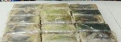 Cocaína oculta en vehículo