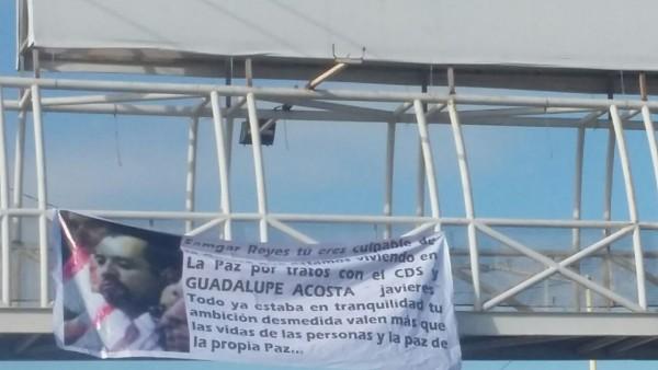 Narcomanta La Paz