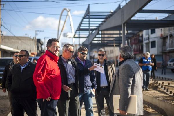Astiazarán y funcionarios recorrieron 15 estaciones