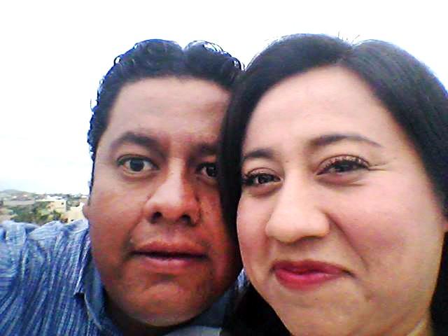 Los abogados Jaime Cruz y Marbella Sánchez, en defensa del presunto violador