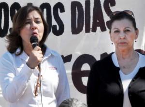 Foto: Sergio Haro/Lupita Mora y Martha Elvia García