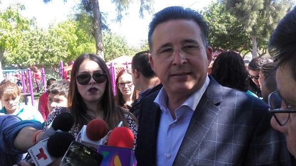 """""""Solo se ha colaborado con la Federación en el desarrollo del rescate de espacios públicos"""": Astiazarán."""