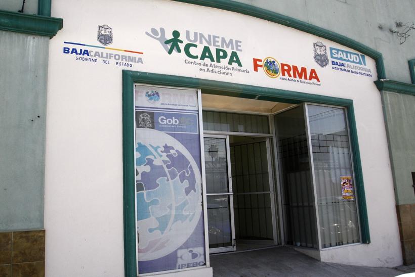 Un centro de adicciones destinado a consulta.