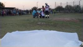 Bala perdida mata a beisbolista en pleno partido en Reynosa