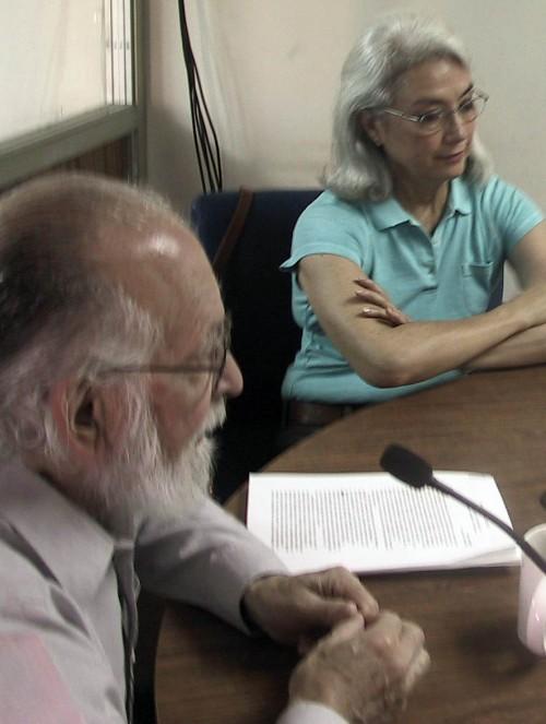 Enrique Maza y Blanca Villaseñor, Mexicali, abril 2006/ FOTO: ARCHIVO SERGIO HARO