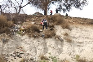 Una de las víctimas fue rescatado de un cerro a un costado del CRIT Tijuana