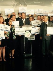 El Presidente nacional de Coparmex, acudió ante los congresistas para exigir entre ellas la Ley 3de3.