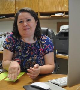 Laura Figueroa, directora del área Editorial de la UABC