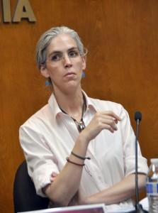 Pamela San Martín Ríos y Valles Consejera del Consejo General del INE FOTO: SERGIO HARO