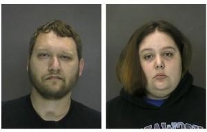 Imágenes tomadas por la Policía de Troy tras el arresto de la pareja. Foto: Cortesía