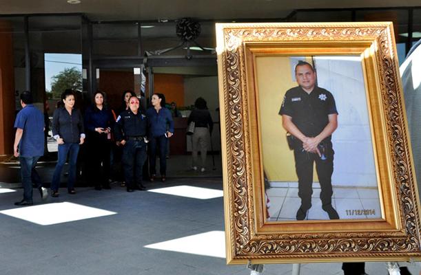 Armando Arreola Valdez, policia asesinado