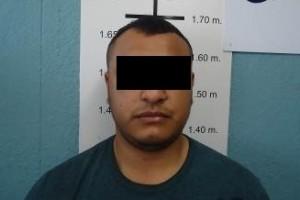 """José Luis """"N"""", apodado """"El Chelis"""", de 27 años de edad."""