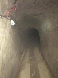 El túnel es el más grande localizado en la frontera entre California y Baja California