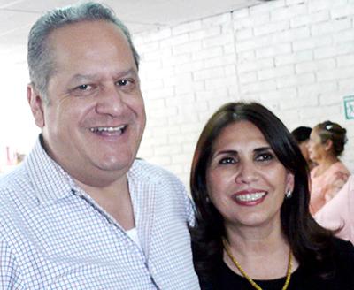 Foto: Sergio Haro/Antonio Magaña y Rosa Isela Ibarra