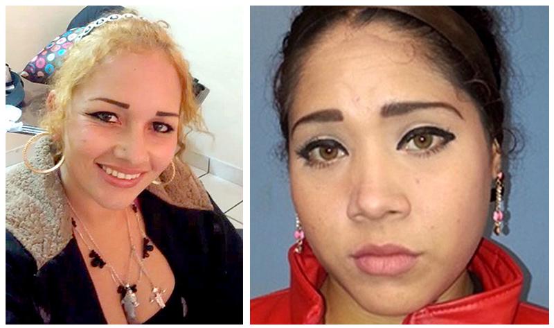 """Fernanda Judith Castro y Viridiana Quintero Casillas, dos de las tres herederas del trono de Melissa Margarita Calderon Ojeda """"La China"""""""