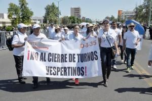 FOTO: SERGIO HARO/Protesta de maestros
