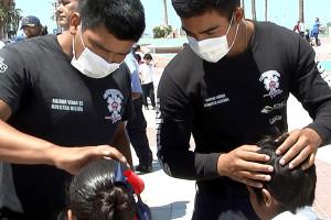 1 Enjambre de abejas atacó a 23 estudiantes en La Paz 1