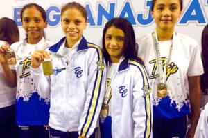 Fotos: Marcos Angulo/Los nadadores lograron la mayor cantidad de preseas en la historia de ON