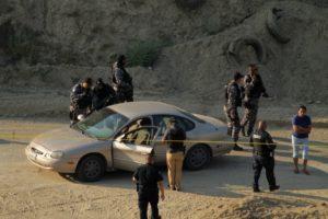 Agentes municipales acordonaron el área. Foto: Especial para ZETA