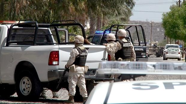 fuerzas militares participan como apoyo en la guerra contra el narco en BCS