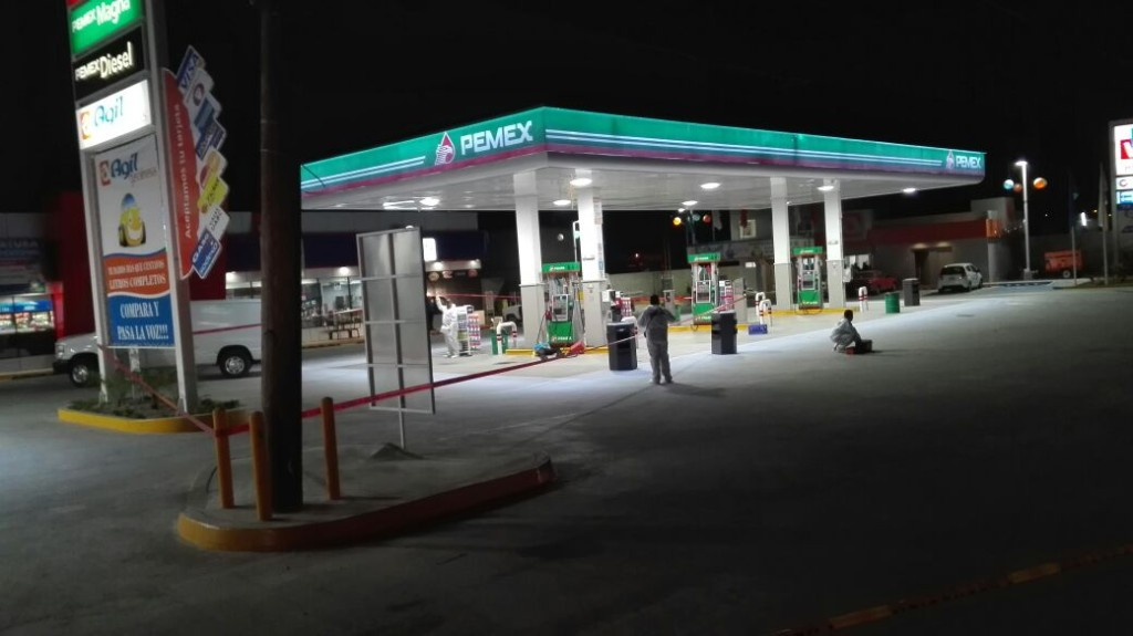 Ejecutado en gasolineros
