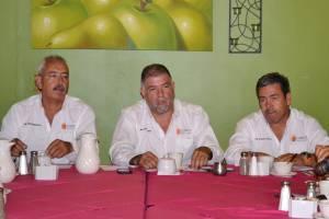 Jaime Quintero Rousseau%2c Sergio Torres y Orlando Fabiel López.