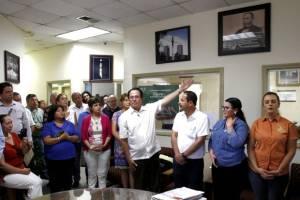 Fotos: Jorge Dueñes/El 16 de agosto regresó a dirigir por 4 años la preparatoria Lázaro Cárdenas