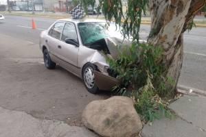 El accidente se registró esta mañana. Foto: Cortesía