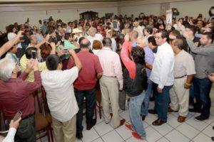 FOTOS: Ramón T. Blanco V.- El primer lugar donde dará a conocer su proyecto presidencial será en Tijuana