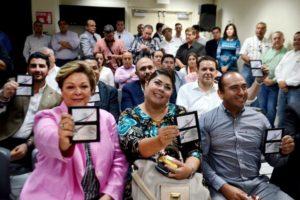 Fotros: Sergio Haro/Priistas en segunda fila
