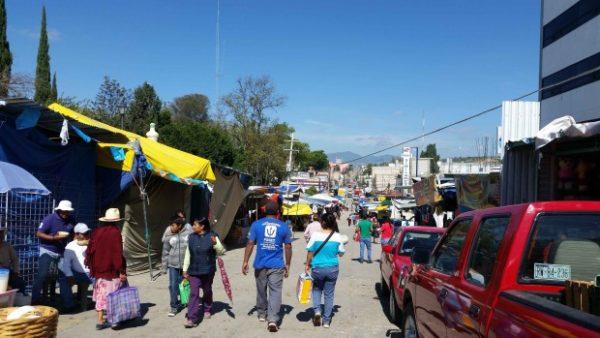 Mercado en Nochixtlán, Oaxaca