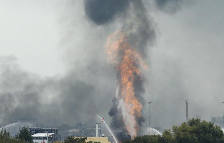 Explosión en una planta de BASF en Alemania