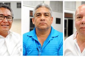 Jesús González Collins, Miguel Angel Barreto, Victor de la Mora