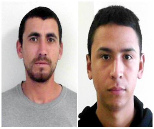 "Ramon Daniel Ochoa Loera ""El Dani"", ""El Ramon"" - Edgar Alejandro Herrera Pardo ""El Caiman"", ""El Zame"""