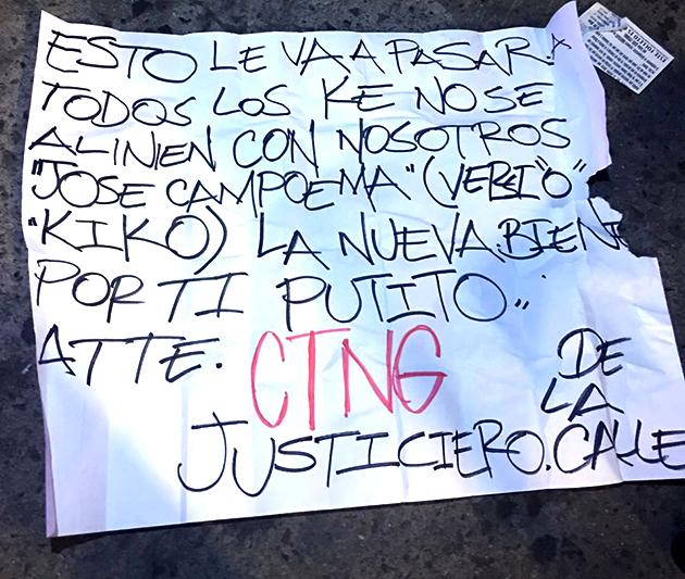 Personas asesinadas entre 2008-2010 en la pugna interna del Cártel Arellano: 2 mil 491; víctimas de homicidios dolosos en el primer trienio de Francisco Vega: 2 mil 605 hasta el 31 de octubre de 2016