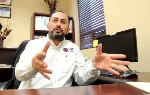 Benjamín Eduardo Salgado López, Director del DIF municipal