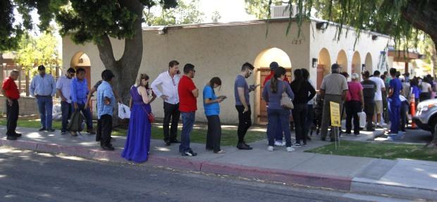 Pocos latinos acudieron a las urnas