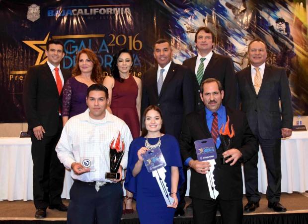 El resto de los premiados