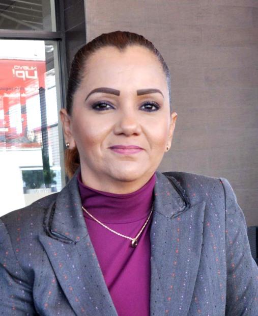Maritza Olivas, aspirante al sindicado de burocratas