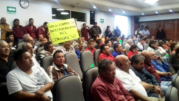 Transportistas demandan al Congreso del Estado intervenir en conflicto